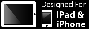 Designed for iPhone and iPad Graphic