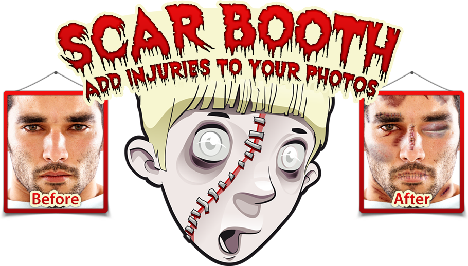 Scar Booth Banner